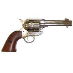Chromowany Colt 45 wersja cywilna z 1873r. Denix 1186NQ - replika
