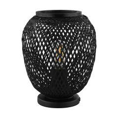 DEMBLEBY Lampa stołowa 1 płom. H 25 cm czarna EGLO 43267