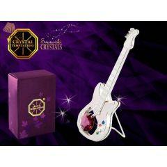 Statuetka gitary elektrycznej z kryształami Swarovskiego 122-0277