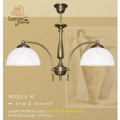 Lampa 2 ramienna Sevilla S2 ICARO