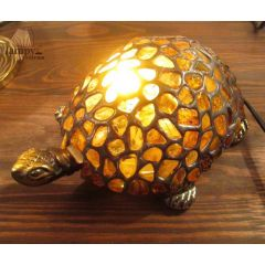 Lampa biurkowa Żółw Bursztyn B18