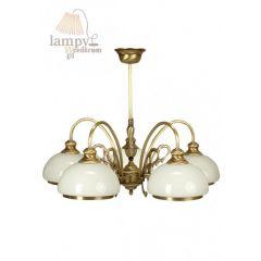 Lampa żyrandol 5 płom. Wstążka 0190/JP5 SOLAR