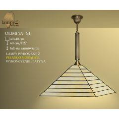 Lampa zwis 1 płom. Olimpia S1 IKARO