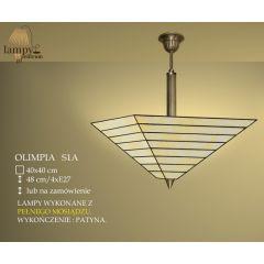 Lampa ampla 4 płom. Olimpia S1A IKARO