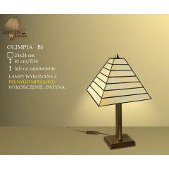 Lampa stołowa 1 płom. Olimpia B1 IKARO