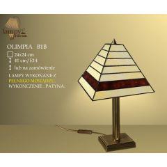 Lampa stołowa 1 płom. Olimpia B1B IKARO