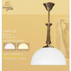 Lampa zwis pojedynczy Vieste S1C ICARO