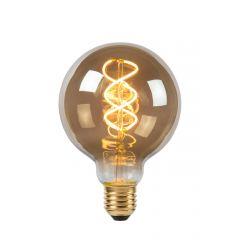 E27 Żarówka LED Ø 9,5cm - LED Dim. 1x5W 2200K Lucide 49032/05/65