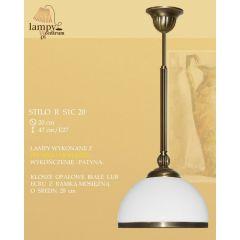 Lampa zwis pojedynczy Stilo R S1C20 ICARO