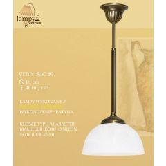 Lampa zwis pojedynczy Vito S1C IKARO