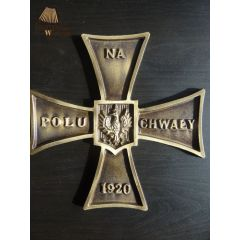 Krzyż Walecznych mosiądz