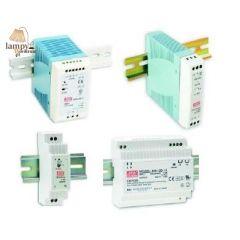 Zasilacz oświetlenie LED na szynę DIN MEANWELL seria MDR DR - różne moce