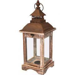 Lampion Drewniany-Prom.  74250