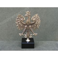Godło Polski duże - statuetka obustronna - marmur