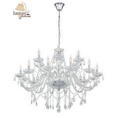 Lampa żyrandol 18 płomienny BASILANO 1 Glass Chandeliers EGLO 39103