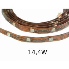 Taśma LED 14,4W IP67 standard line w osłonie z koszulki - różne kolory W024-050-11-03