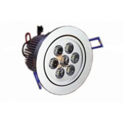 Lampa LED 7x1W do zabudowy D105SL