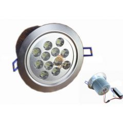 Lampa LED 12x1W do zabudowy D135SL