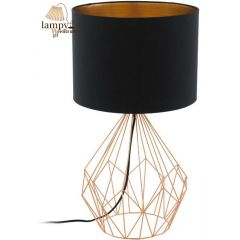 Lampa stołowa PEDREGAL 1 miedź EGLO 95185