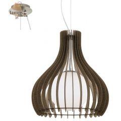 Lampa zwis pojedynczy TINDORI brązowy 50cm EGLO 96217