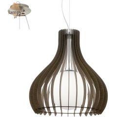 Lampa zwis pojedynczy TINDORI brązowy 60cm EGLO 96218