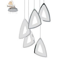 Lampa żyrandol 5 płomienny LED AMONDE Eglo 95219