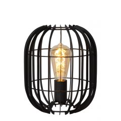 Reda lampa stołowa czarna  Lucide 78599/01/30
