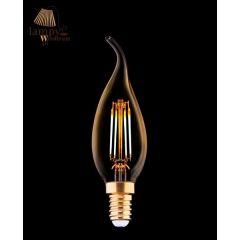 Żarówka dekoracyjna VINTAGE LED BULB E14 4W płomyk Nowodvorski 9793