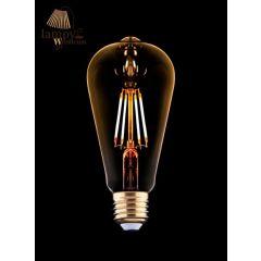 Żarówka dekoracyjna VINTAGE LED BULB E27 4W kropla Nowodvorski 9796