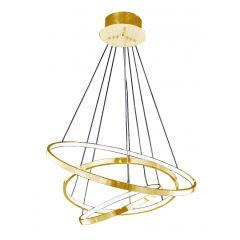 Wheel 3 Dimm lampa wisząca LED złota Azzardo AZ2918