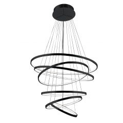 Wheel 6 Long Dimm lampa wisząca LED czarna Azzardo AZ2923
