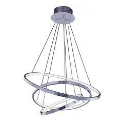 Wheel 3 Dimm lampa wisząca LED chrom Azzardo AZ2989