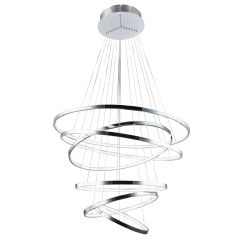 Wheel 6 Long Dimm lampa wisząca LED chrom Azzardo AZ2990