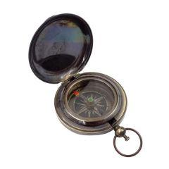 Mały mosiężny kompas - wykończenie antyk NC2884