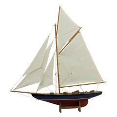 Drewniany model - kuter gaflowy Col1