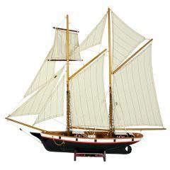 Model szkunera La Belle Poul - Lab1; wys. 68cm