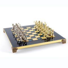 Ekskluzywne szachy metalowe Archers; 28x28cm, S15