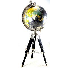 Globus Challenge na podstawie drewnianej NC2144