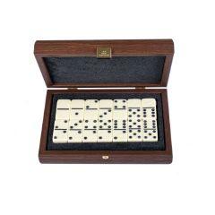 Ekskluzywne domino w pudełku drewnianym 24x17cm - DXL20