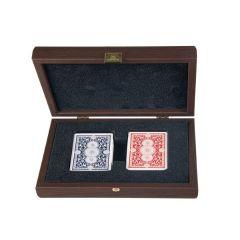 Ekskluzywne karty do gryw pudle drewnianym CXL20