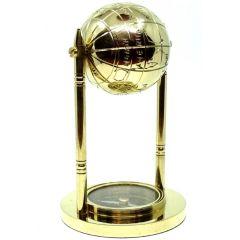 Mosiężny globus z kompasem NC1160