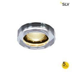 CRYSTAL lampa do wbudowania LED 1800-3000K 38° chrom IP20 Spotline 1002120 WYPRZEDAŻ