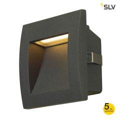 Lampa oprawa do wbudowania IP55 LED DOWNUNDER OUT S antracyt SLV Spotline 233605