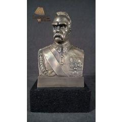 Popiersie Marszałka Józefa Piłsudskiego Mosiądz
