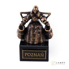 Pamiątka z Poznania Statuetka Bamberka - Mosiądz