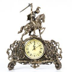 Zegar z jeźdźcem na koniu - św. Jerzy Mosiądz nr. 283