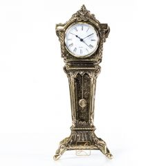 Zegar kominkowy z wahadłem Mosiądz nr. 290