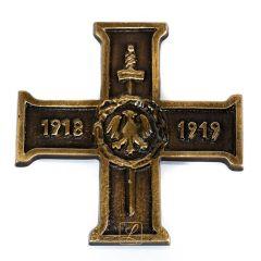 Wielkopolski Krzyż Powstańczy mosiądz
