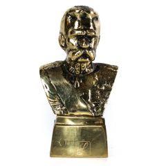 Popiersie Piłsudski małe Mosiądz nr. 274
