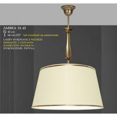 Lampa wisząca 1 płom. Ambra różne abażury S1 45 S1M 45 ICARO